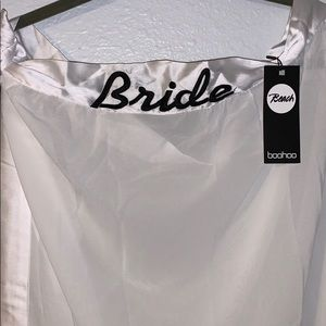 White Bride bathing suit wrap. New with tags.